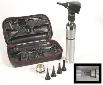 Welch Allyn Convertible Power Handle Otoscope Diatec